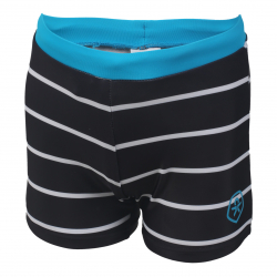 Chlapčenské plavecké boxerky COLOR KIDS-Norwich - Phantom