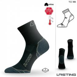 Turistické ponožky LASTING TCC 986 BLACK