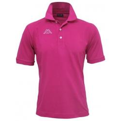 Pánske polo tričko s krátkym rukávom KAPPA POLO LIFE MSS-Pink dark