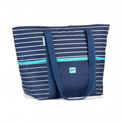 Kempingová taška SPOKEY LEVANTE Plážová termo taška -navy