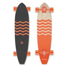 """Longboard STREET SURFING Longboard CUT KICKTAIL 36"""" Blown Out - 100"""
