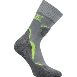 Turistické ponožky VOXX DUALIX LIGHT GREY