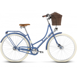 "Mestský bicykel LE GRAND-28"" - Virginia 2 - blue matte"