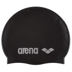 Plavecká čiapka ARENA CLASSIC SILICONE CAP black