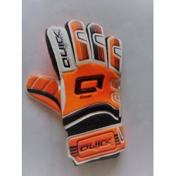 Detské futbalové brankárske rukavice QUICK SPORT 4010 ORANGE KIDS