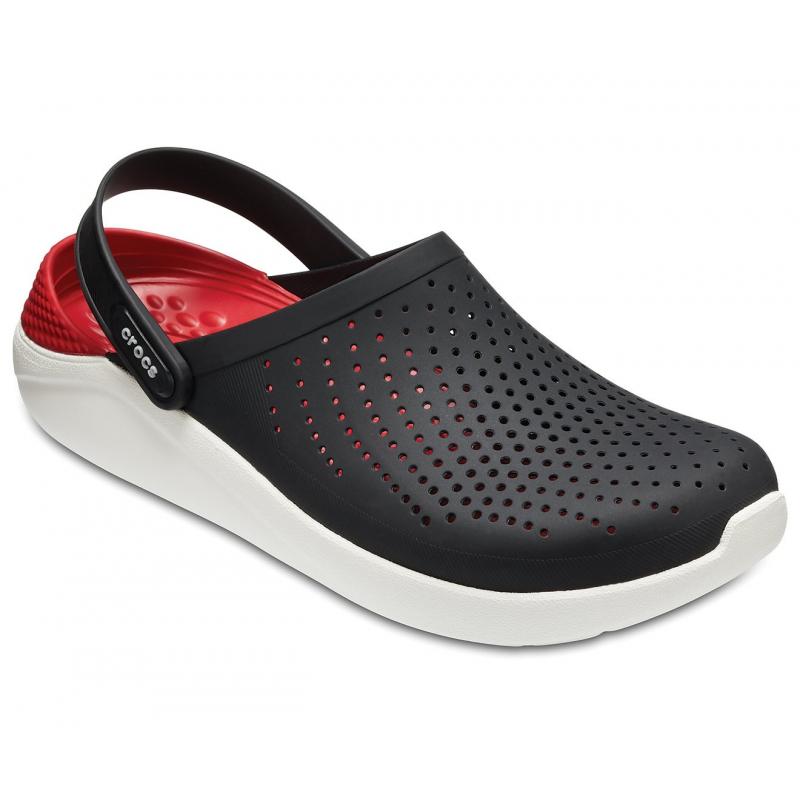 dd656217cd8 Rekreačná obuv CROCS-LiteRide Clog Slate Black White - Rekreačná obuv značky  Crocs vhodná