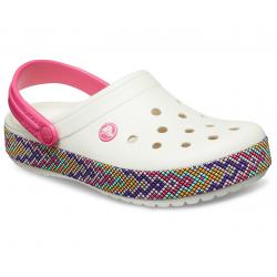 Dámska rekreačná obuv CROCS-Crocband Gallery Clog Oyster
