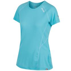 Dámske turistické tričko s krátkym rukáv REGATTA Wmns Virda IIHorizon