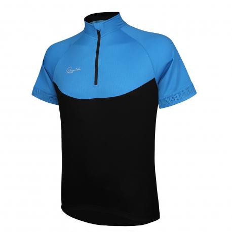 Pánsky cyklistický dres s krátkym rukávom RAPIDO-jersey blue men