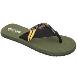 Plážová obuv COOL-Dony army