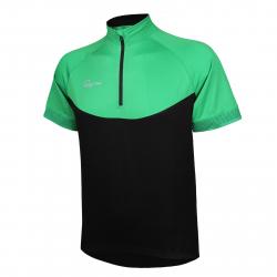 Pánský cyklistický dres s krátkým rukávem RAPIDO-jersey green men