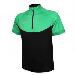 Pánsky cyklistický dres s krátkym rukávo RAPIDO-jersey green men