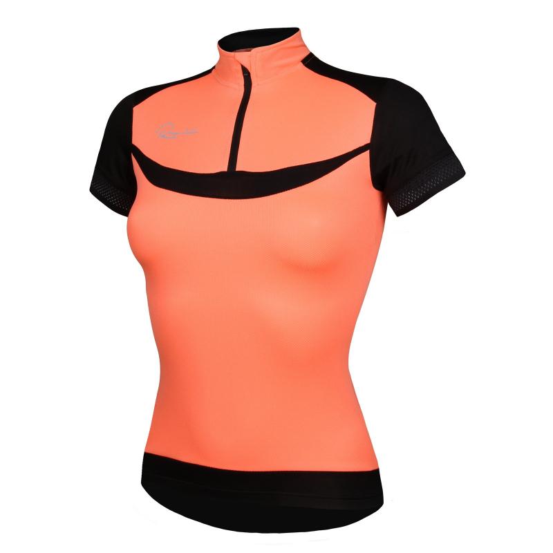 Dámsky cyklistický dres s krátkym rukávom RAPIDO-jersey wmns - Dámsky cyklistický dres značky Rapido s krátkymi rukávmi zovzdušného apritom odolného materiálu.