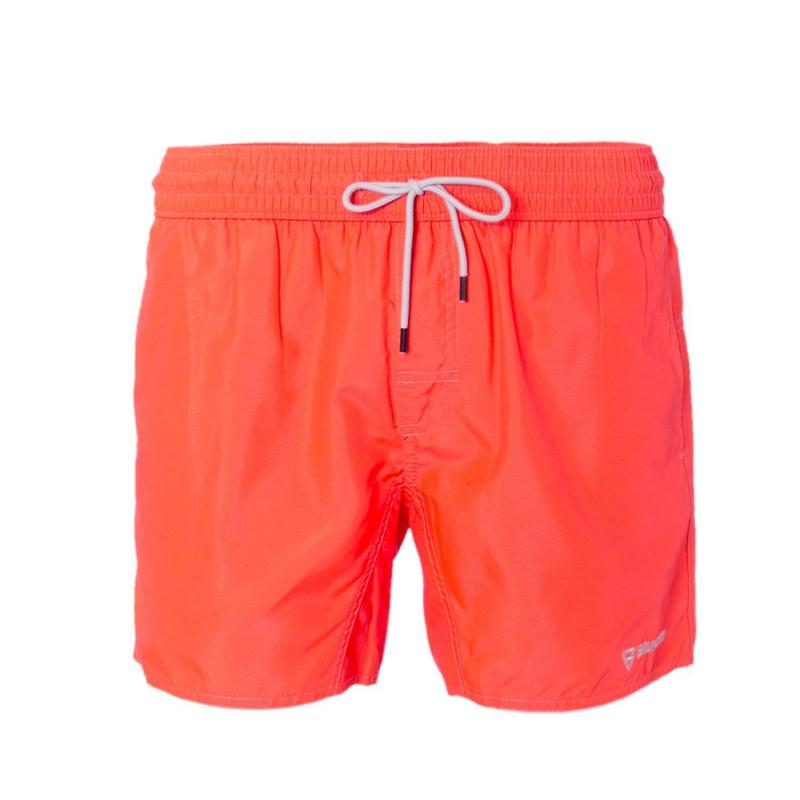 Pánske plavky BRUNOTTI-Crunot N Men Short pink - Pánské plavecké šortky značky Brunotti v jednobarevném no výrazném vzhledu.