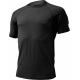 Pánske turistické tričko s krátkym rukáv LASTING QUIDO-Black - Pánskevlnenétričko značky Lasting z jednovrstvového úpletu.