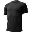 Pánske turistické tričko s krátkym rukáv LASTING QUIDO-Black