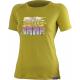 Dámske turistické tričko s krátkym ruká LASTING ORGANIC - Dámske tričko značky Lasting.