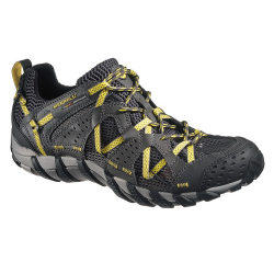 Pánska turistická obuv nízka MERRELL-WATERPRO MAIPO carbon/empire yellow
