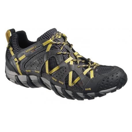 Pánska turistická obuv nízka MERRELL-WATERPRO MAIPO carbon empire yellow -  Pánska turistická obuv a5a1ef177c4