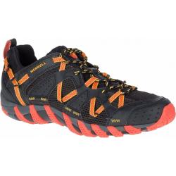 Pánska turistická obuv nízka MERRELL-WATERPRO MAIPO black/hot coral