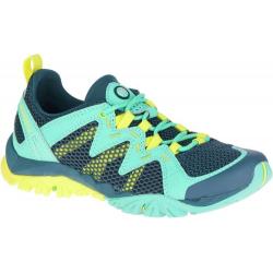 Dámska turistická obuv nízka MERRELL-TETREX RAPID CREST turquoise c3c99719c32