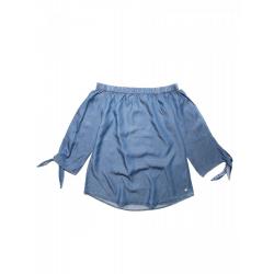 Dámska košeľa s dlhým rukávom VOLCANO-K-TONIA-WOMEN-Blue light
