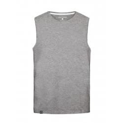 Pánske tričko bez rukávov VOLCANO-T-TANK-MEN-Grey