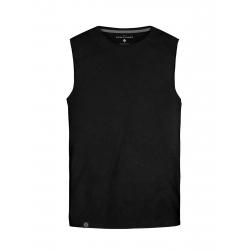 Pánske tričko bez rukávov VOLCANO-T-TANK-MEN-Black
