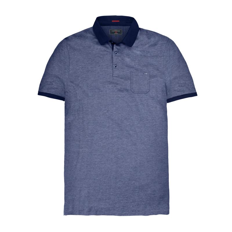 f4e6d1e4b7f2 Pánske polo tričko s krátkym rukávom VOLCANO-T-FAX-MEN-Blue -
