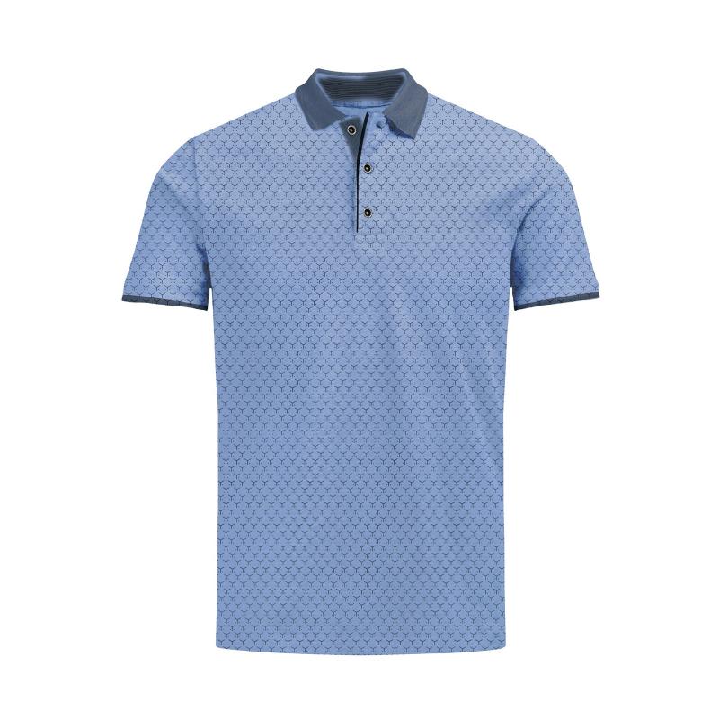 1518f07eaddb Pánske polo tričko s krátkym rukávom VOLCANO-T-FELIX-MEN-Blue light