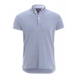 b8b839b4d1a2e Pánske polo tričko s krátkym rukávom VOLCANO-T-RUM-MEN-Blue light