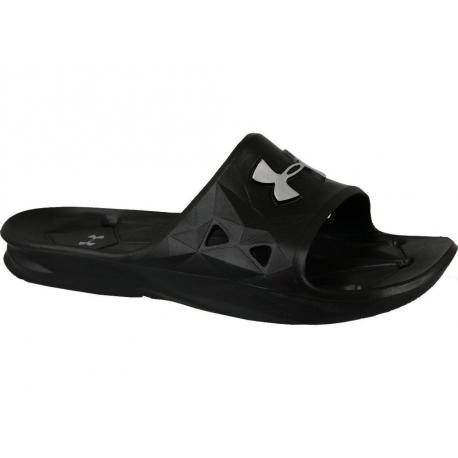 Pánska obuv k bazénu (plážová obuv) UNDER ARMOUR-UA M Locker III SL-BLK