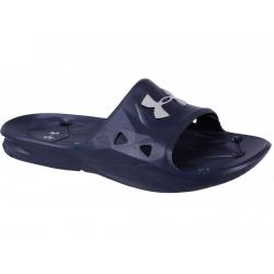 Pánska obuv k bazénu (plážová obuv) UNDER ARMOUR-UA M Locker III SL-NVY