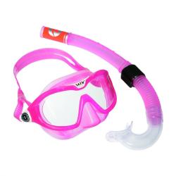 Detský potápačský set AQUALUNG SET MIX junior vel.S Softeril pink