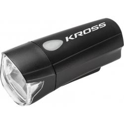 Cyklistické svetlo KROSS-LFRONT LIGHT NATTY, 1W OSRAM LED