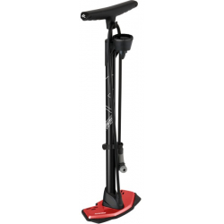 Cyklistická pumpa KROSS-FLOOR ALLOY PUMP WITH GUAGE TYPHOPON
