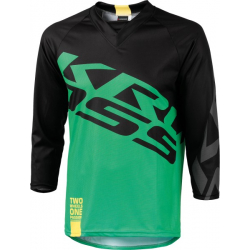 Cyklistický dres KROSS-ENDURO SHORTS GREEN