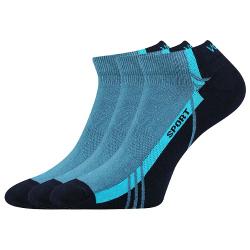 Športové ponožky VOXX PINAS BLUE 3 PACK