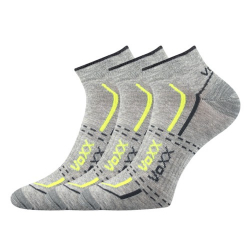 Športové ponožky VOXX REX GREY LIGHT 3 PACK