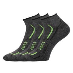Športové ponožky VOXX REX GREY 3 PACK