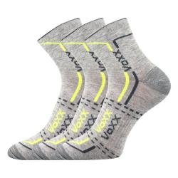 Športové ponožky VOXX FRANZ GREY LIGHT 3 PACK