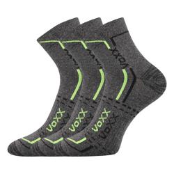 Športové ponožky VOXX FRANZ GREY 3 PACK