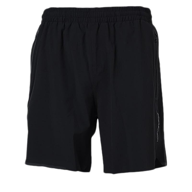 Pánske bežecké kraťasy NORTHFINDER-QUINTON-Black - Pánske bežecké šortky značky Northfinder.