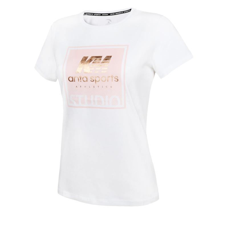 894b13af0129 Dámske tréningové tričko s krátkym rukáv ANTA-SS Tee-White 6 - Dámske  tréningové