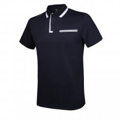 Pánske tréningové polo tričko s krátkym ANTA-SS Polo-Blue dark 2