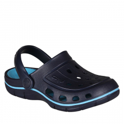 Chlapčenská plážová obuv COQUI Jumper Navy / New Blue