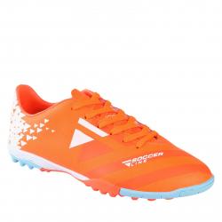 Pánske futbalové kopačky turfy LANCAST-READYS ESTADO M TF orange/white