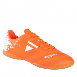 Pánske futbalové kopačky halové LANCAST-READYS ESTADO M IC orange/white