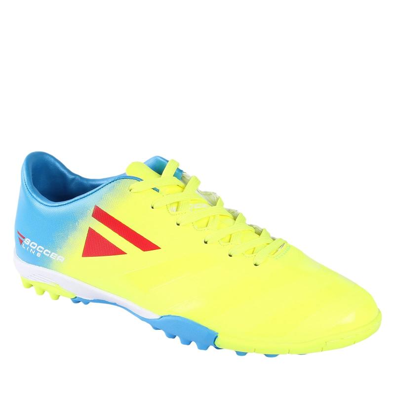 Pánske futbalové kopačky turfy LANCAST-READYS ESTADO M TF green/blue - Pánske futbalové kopačky značky Lancast.