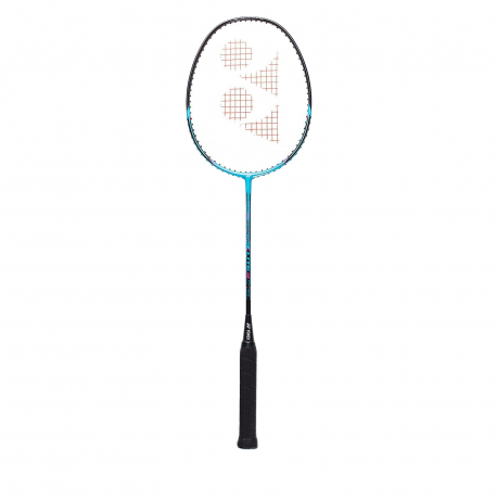 Badmintonová raketa pro profesionály YONEX-Isometric LITE 3 CYAN / RED 3U / 88gr.